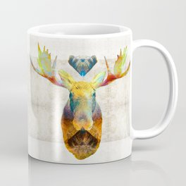 Mystic Moose Art by Sharon Cummings Coffee Mug