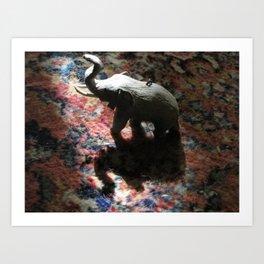 Elephunt Art Print
