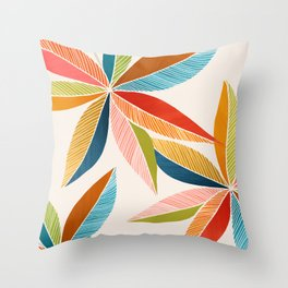 Multicolorful Throw Pillow