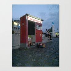 PHOTOAUTOMAT Canvas Print