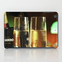 champagne iPad Cases featuring champagne by laika in cosmos