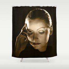 Greta Garbo Shower Curtain