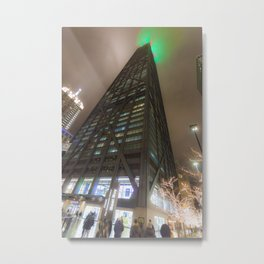 Hancock Center Chicago 360 Metal Print