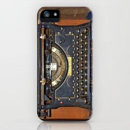 Typewriter2 iPhone Case
