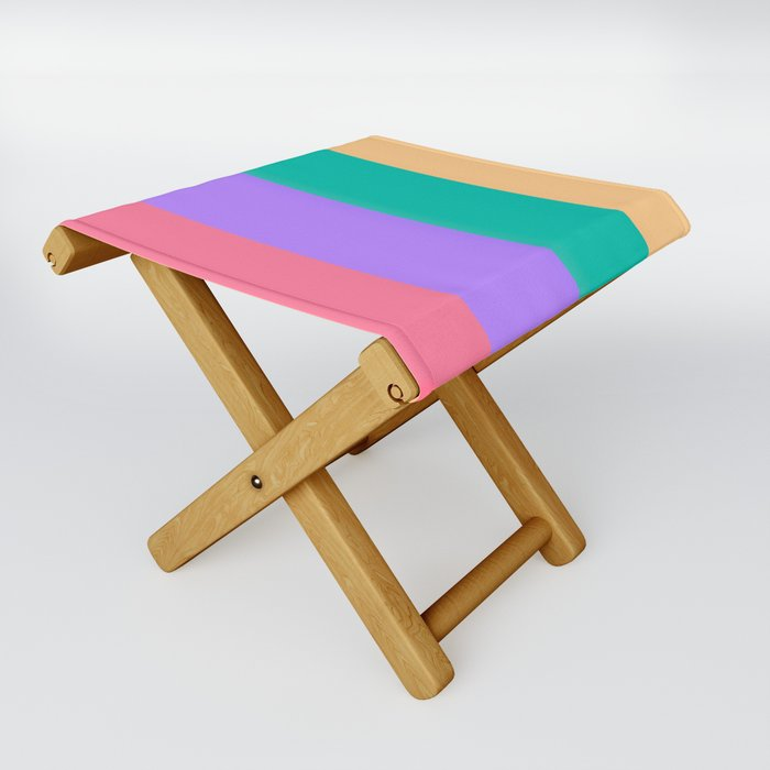 Happy colors Folding Stool