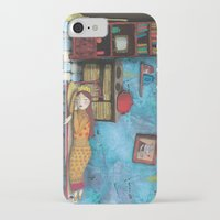 cinderella iPhone & iPod Cases featuring Cinderella by Agnes Laczo
