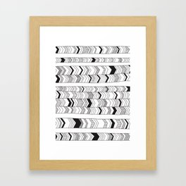 Arrows Framed Art Print