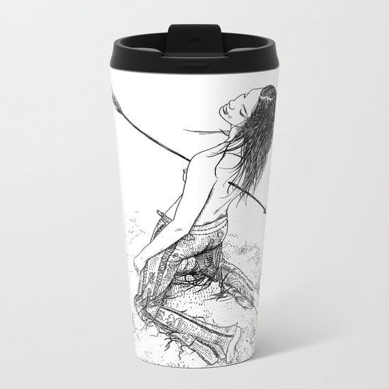asc 156 - La flèche noire Metal Travel Mug