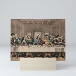 The Last Supper - Vintage Currier and Ives Print Mini Art Print
