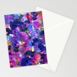 Monet's Violet Garden Stationery Cards