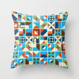 Nirmana Pattern Throw Pillow