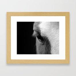 Soft Glow Framed Art Print