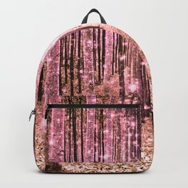 Magical Forest Peachy Pink Backpack