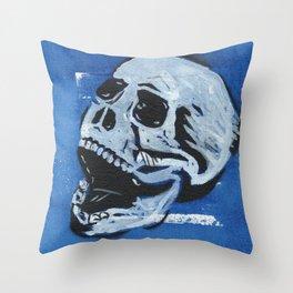 Gunga Skull 04 Throw Pillow