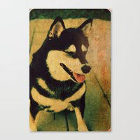 best friend Canvas Prints featuring Best friend by Truly Juel