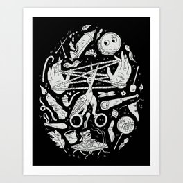 Lullaby in Frogland Art Print