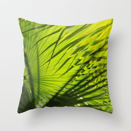 Palm Pattern Throw Pillow