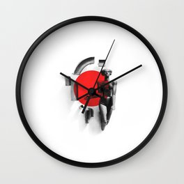 Girl from Grodno Wall Clock