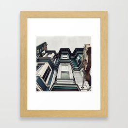 San Fran livin' Framed Art Print