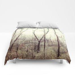 Winter Woods #1 Comforters