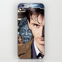 doctor who iPhone & iPod Skins featuring Doctor Who by SB Art Productions