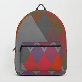 """Colorful Rhombus pattern"" Backpack"