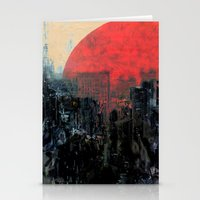 sunshine Stationery Cards featuring Last Sunshine by Fernando Vieira