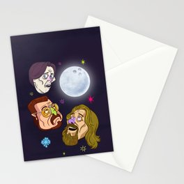 3 DUDE MOON Stationery Cards