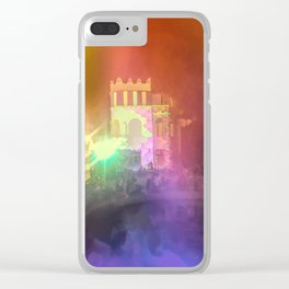 Festival Lights and Fire 2 Clear iPhone Case
