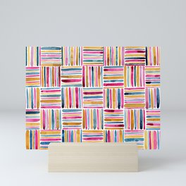 Sea of Stripes Mini Art Print