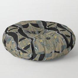 Solemn Mandalic Pattern Floor Pillow