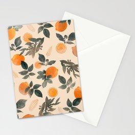 CITRUS & ORANGES III Stationery Cards