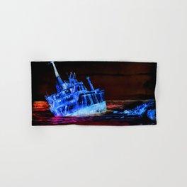 shipwreck aqrestdi Hand & Bath Towel