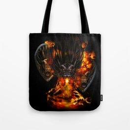 Dragon Negro DNIII Tote Bag