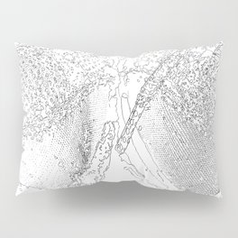 sand and laces drawing Pillow Sham