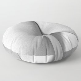 Imperfect Symmetry in a woman body Floor Pillow