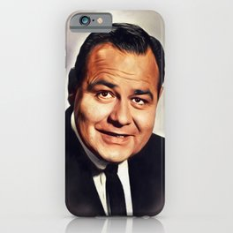 Jonathan Winters, Vintage Actor iPhone Case