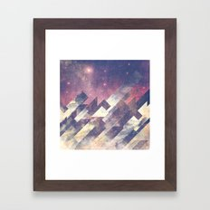 The stars are calling me Framed Art Print