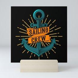 SAILING CREW ANCHOR SAILING CREW Gift Sailor Mini Art Print