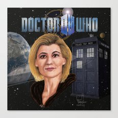 13th Doctor poster Canvas Print