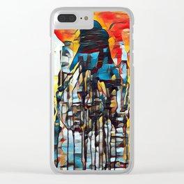 APRIL D2 Clear iPhone Case
