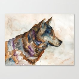 WOLF#1 Canvas Print