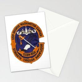 USS GEORGE WASHINGTON CARVER (SSBN-656) PATCH Stationery Cards