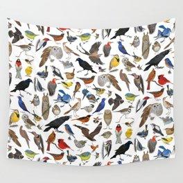 Bird Pattern Wall Tapestry