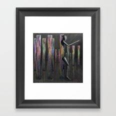 Breaking Free of the Herd Mentality Framed Art Print