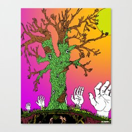 Reach For The Sun Canvas Print