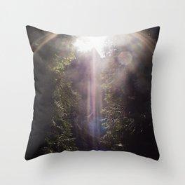 Fragments of Light Throw Pillow