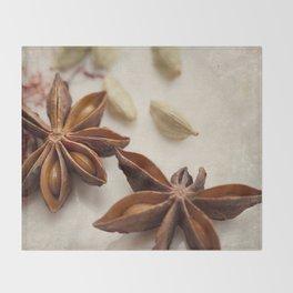 Aniseed Throw Blanket