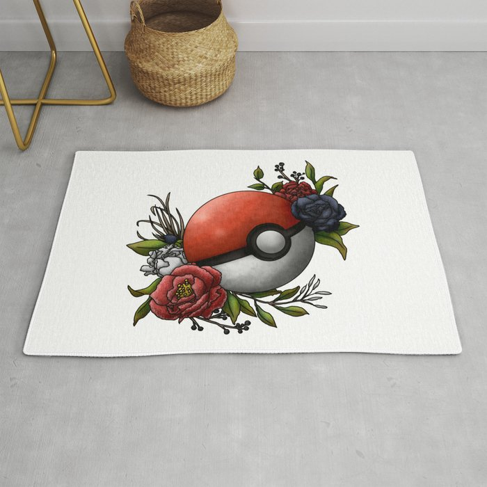 Catch 'Em - Pokeball Rug