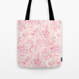 Pink Lemon Maid Tote Bag